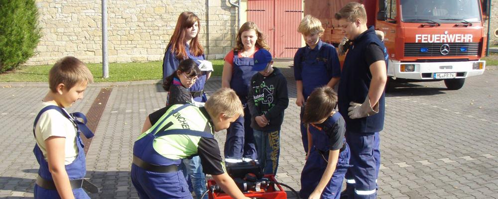 Jugendfeuerwehrausbildung